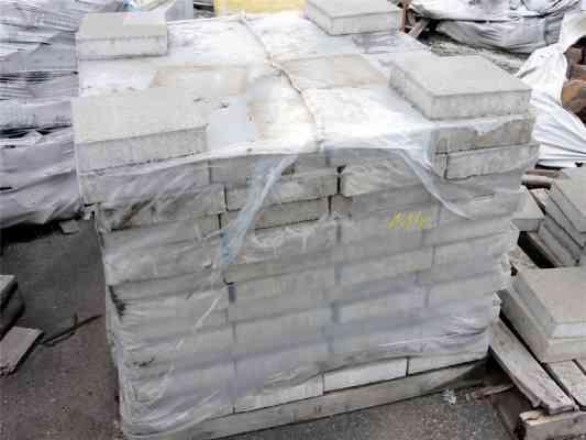 Dalles béton gris 24x24 cm