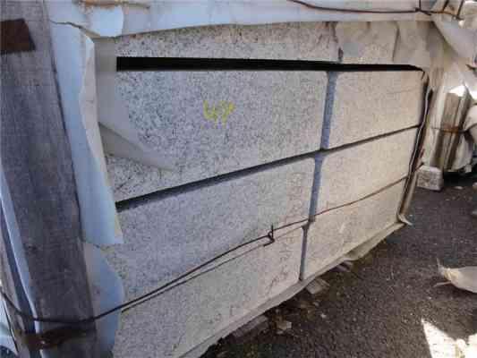 Marches granit gris 100x45x13 cm
