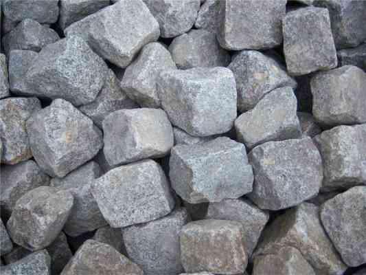 Pavés granit ancien récupération 8/ 11 cm