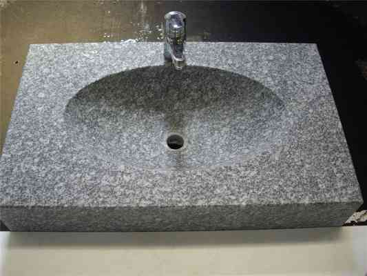 Vasque en granit
