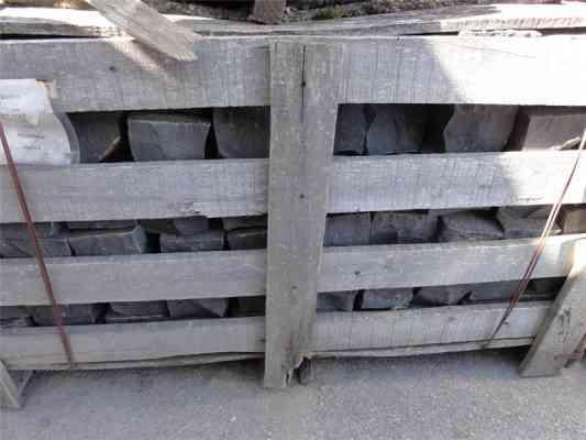 Pavés basalte 10x10 cm