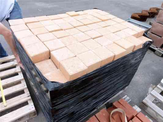 Pavés béton brique 12x12x6 cm