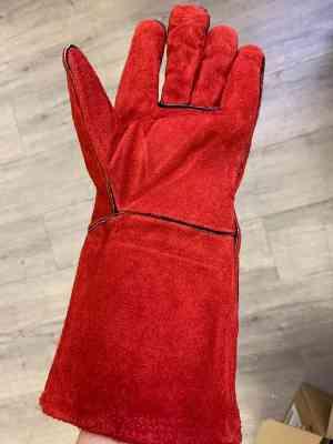 Destockage gants rouge épais
