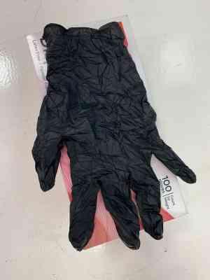 Déstockage Gants Nitrile Noir Taille XL